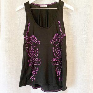 NEW Curious Gypsy Layered Tank w/Cutouts